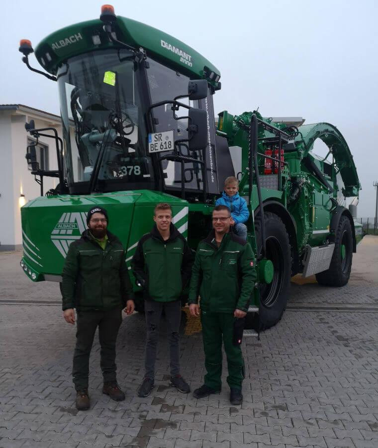 Team von Biomasse Ecker GmbH & Co.KG in Hundersdorf